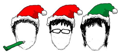 Three's Company at Christmas (Michael Grady-Hall, Tom Crawshaw, and Yaz Al-Shaater
