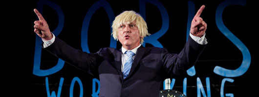 Boris World King: a new comedy about Boris Johnson starring David Benson